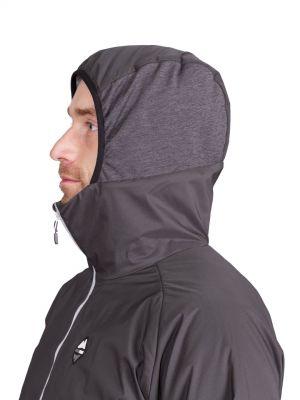 Total Alpha Jacket black - kapuce