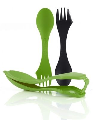 LMF Spork Case black/green