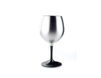 GSI Glacier Stainless Nesting Red Wine Glass
