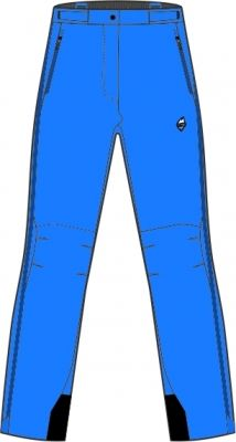 Explosion Lady Pants blue aster