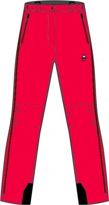 Explosion Lady Pants red