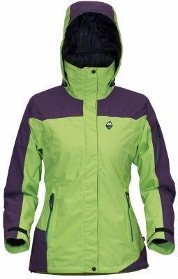 Victoria Lady Jacket lime green/violet