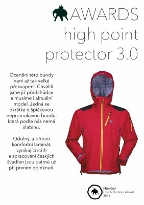 Protector Jacket ocenění Hanibal Awards