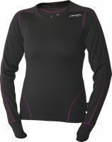 Pulse Lady Long Sleeve ebony