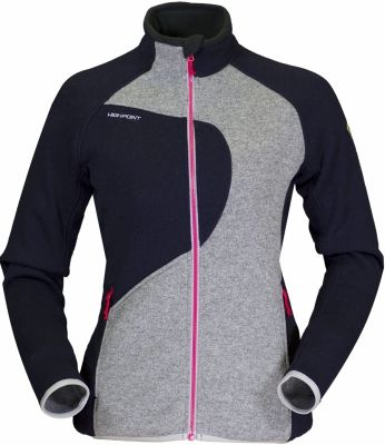 Skywool 2-0 Lady Sweater dark blue/grey