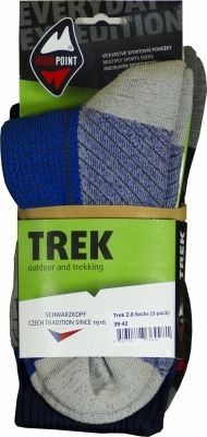 Trek 2.0 Socks 3 pack obal