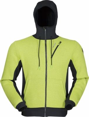 Woolcan 3.0 Hoody lime green