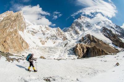 Klára Kolouchová na K2