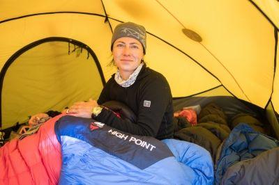 Klára Kolouchouvá na K2