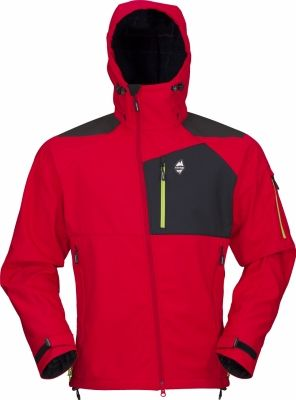 Stratos Hoody Jacket red
