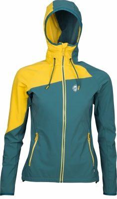 Drift Lady Hoody Jacket pacific/yellow