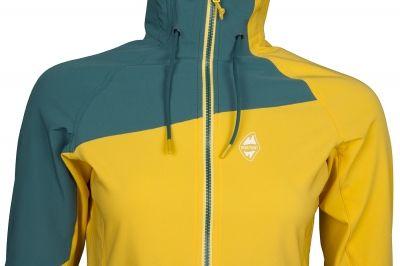 Drift Lady Hoody Jacket yellow-pacific