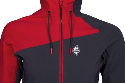 Drift Lady Hoody Jacket carbon-red