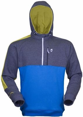 Rock Hoody deep blue grey s