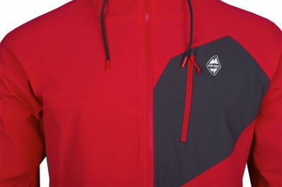 Drift Hoody Jacket red
