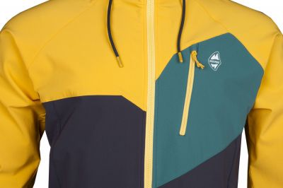 Drift Hoody Jacket yellow-carbon