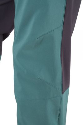 Drift Pants pacific-carbon tvarovaná kolena