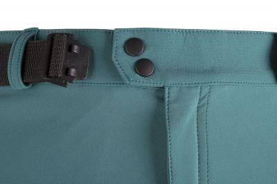 Drift Pants pacific-carbon detail zapínání