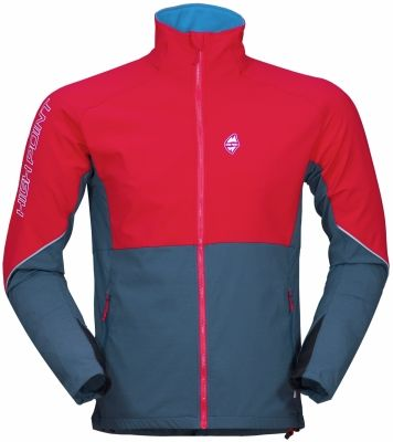 Gale jacket - red blue shadow