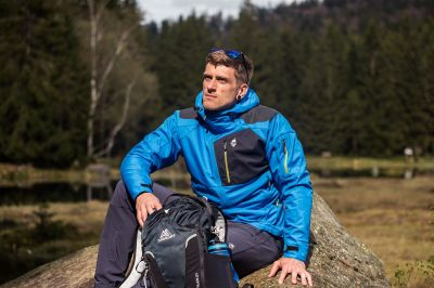 Stratos Hoody Jacket blue
