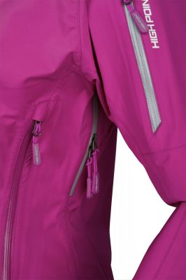 Explosion 4.0 lady Jacket purple detail
