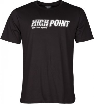 High Point T-shirt black předek.jpg