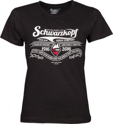 Schwarzkopf T-shirt Lady black předek.jpg