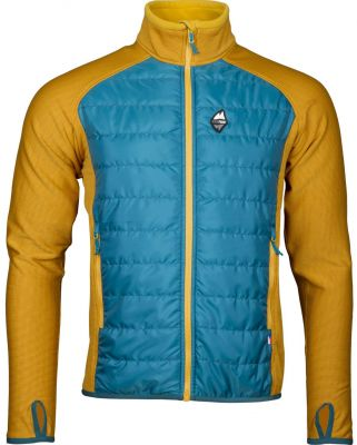 Flow 2.0 Jacket petrol_yellow