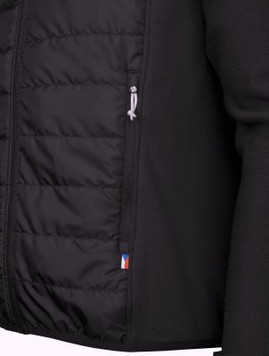 Flow 2-0 Jacket black detail kapsa