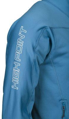 Elektron 4.0 Sweatshirt blue_black logo na rukávu