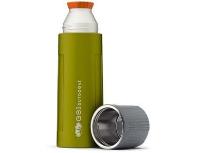 GSI Stainless Vacuum Bottle 1L Green