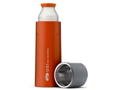GSI Stainless Vacuum Bottle 1L Orange1