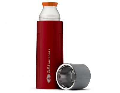 GSI Stainless Vacuum Bottle 1L Red