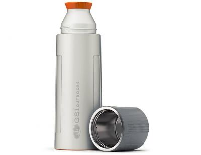 GSI Stainless Vacuum Bottle 1L Silver