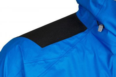 Master Jacket blue/black detail shoulders