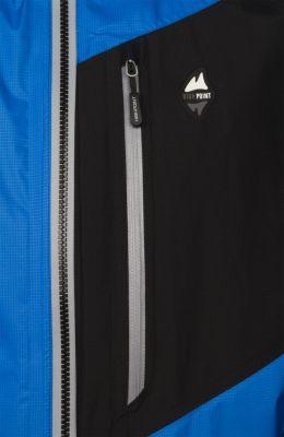Master Jacket blue-black-detail naprsni kapsa