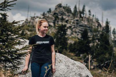 high point lady t-shirt + dash 4.0 lady 3-4 pants