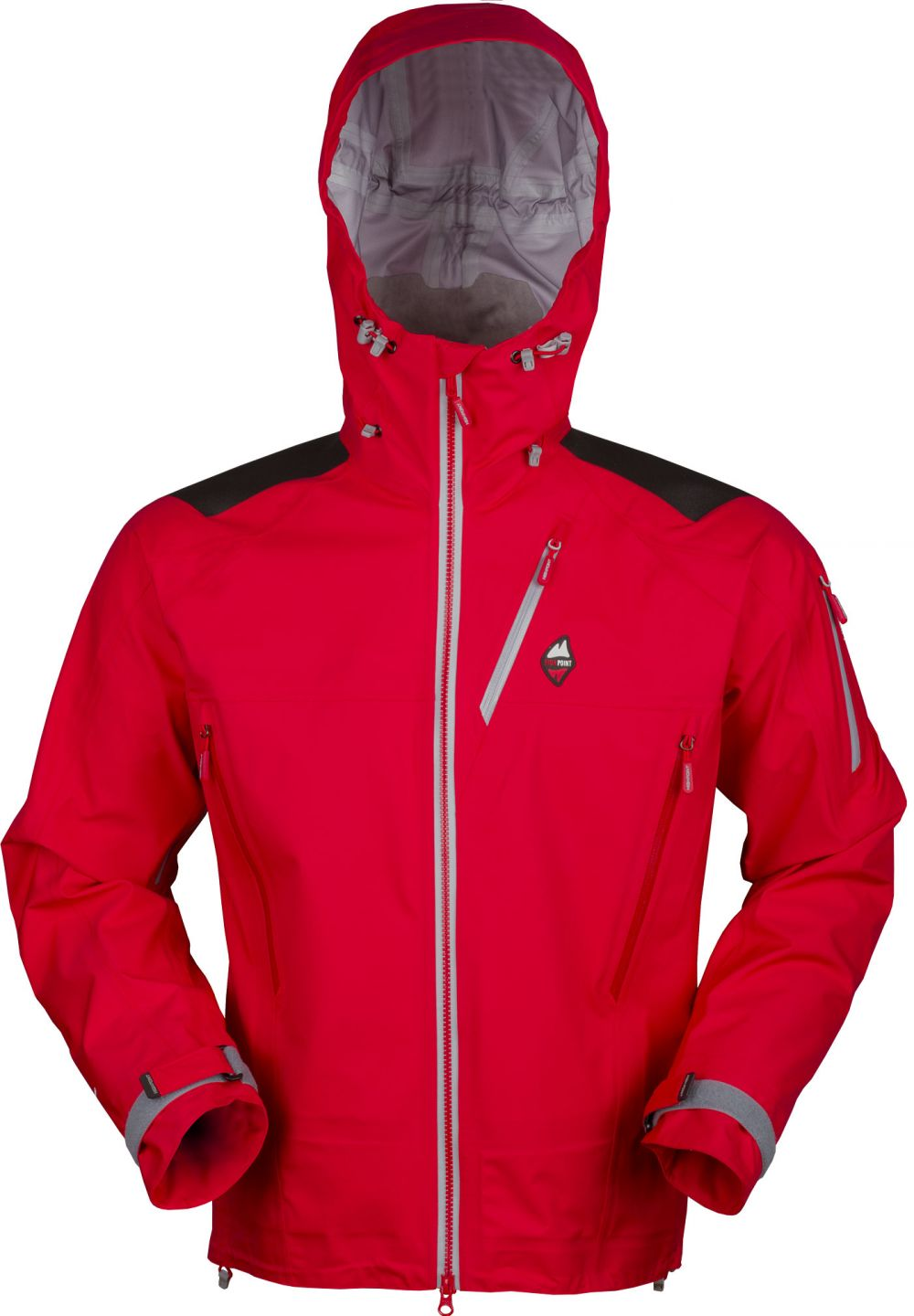 4868f4739e Protector-4.0-Jacket-red-grey-zip