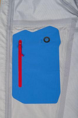 Vnitřní laserem řezaná nalaminovaná kapsa s pruchodem pro kabel