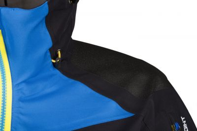 RADICAL 2.0 LADY JACKET black_blue detail zpevnění ramena