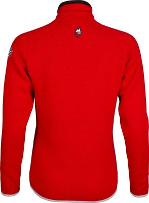 Skywool 3.0 Lady Sweater red-grey záda