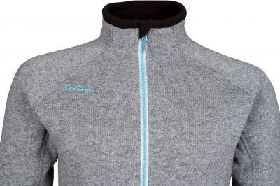 Skywool 3.0 Lady Sweater grey - detail