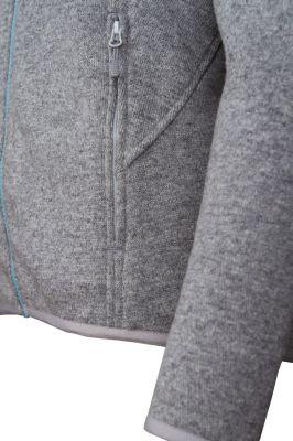 Skywool 3.0 Lady Sweater grey - detail spodni kapsa
