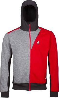 Woolcan 4.0 Hoody grey-red