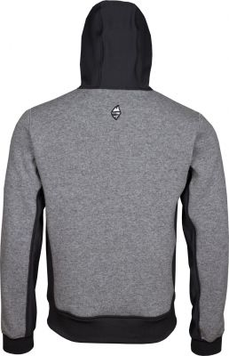 Woolcan 4.0 Hoody grey záda
