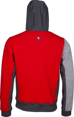 Woolcan 4.0 Hoody grey-red zada