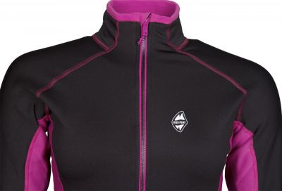 Proton 5.0 Lady Sweatshirt black-purple detail