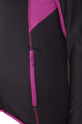 Proton 5.0 Lady Sweatshirt black-purple detail kapsa