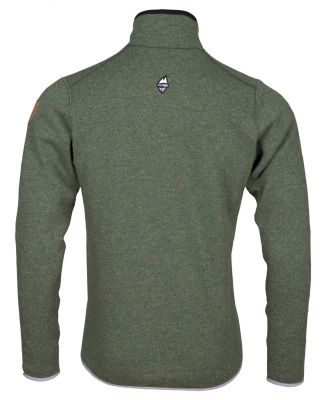 Skywool 4-0 sweater fall green back