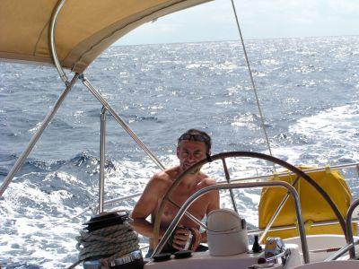 Siga na jachtě